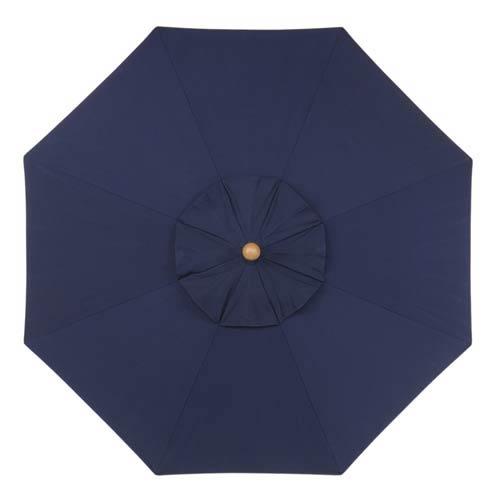 6-Ft. Navy Octagonal Sunbrella Market Umbrella