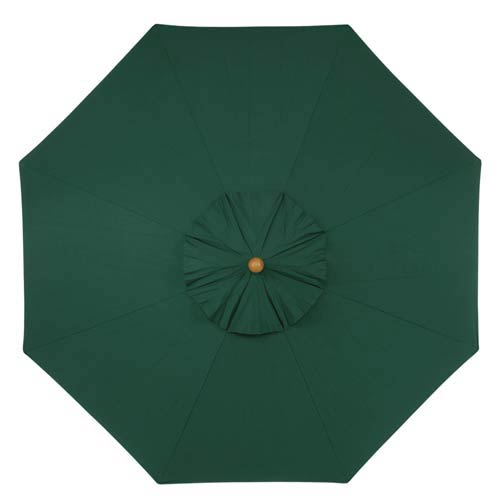9-Ft. Hunter Octagonal Sunbrella Market Umbrella