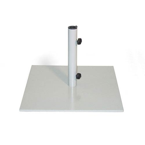 Market Umbrella Stand Square - 40 lb Gray