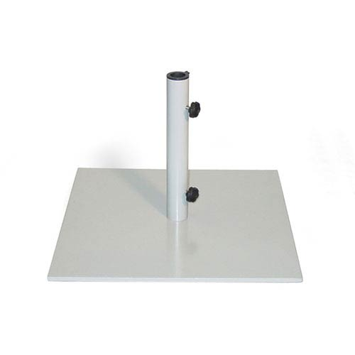 Market Umbrella Stand Square - 70 lb Gray