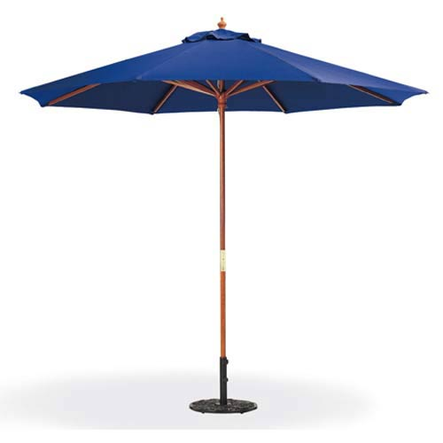9-Ft. Navy Octagonal Polyester Market Umbrella