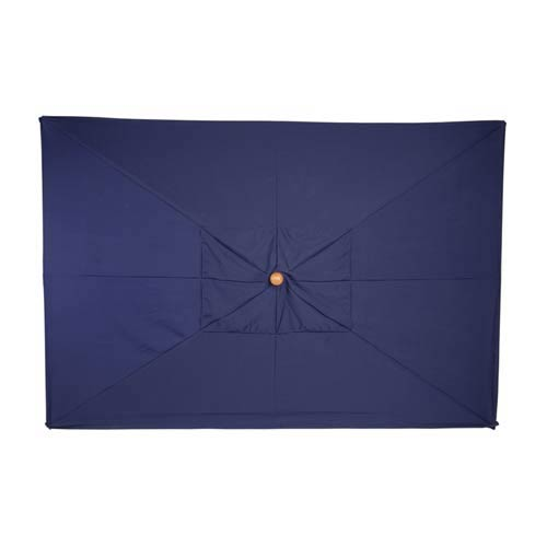10-Ft. Navy Rectangular Market Umbrella