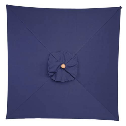 6-Ft. Navy Square Market Umbrella