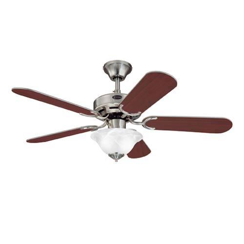 Richboro 42-Inch Brushed Nickel Ceiling Fan
