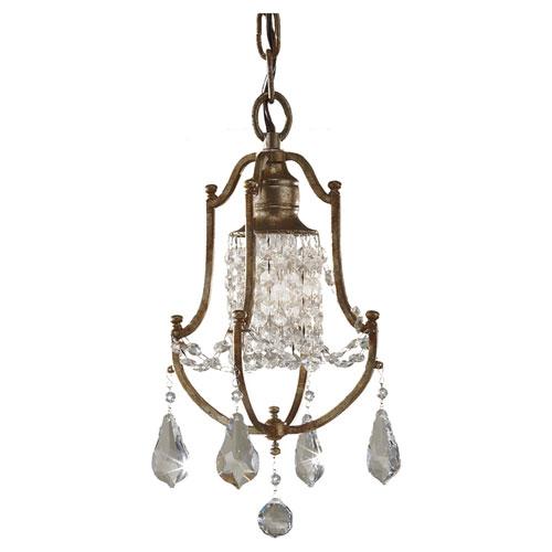 Mill & Mason Chadwell Bronze One-Light Mini Pendant