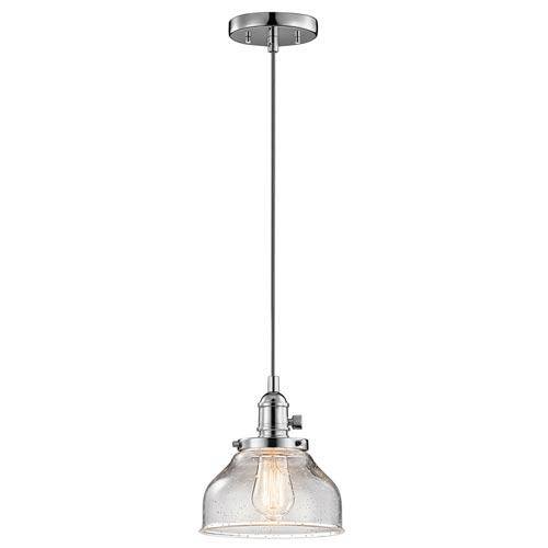 Nicholson Chrome One-Light Mini Pendant
