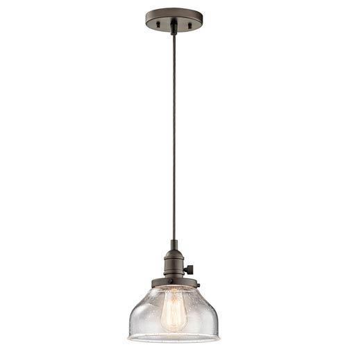 Nicholson Olde Bronze One-Light Mini Pendant