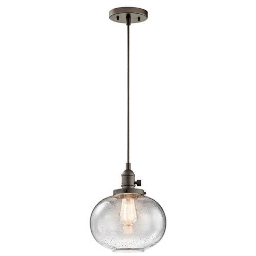Nicholson Olde Bronze One-Light Globe Mini Pendant