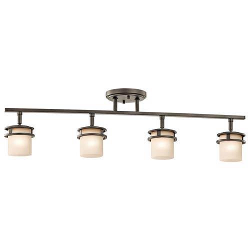 Somerville Olde Bronze Four-Light Rail Light