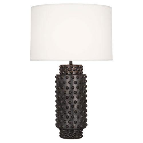 Mill & Mason Cypress Gunmetal Ceramic Glaze 28-Inch One Light Table Lamp