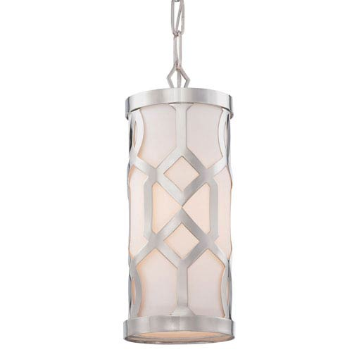Darling Polished Nickel One-Light Mini-Pendant