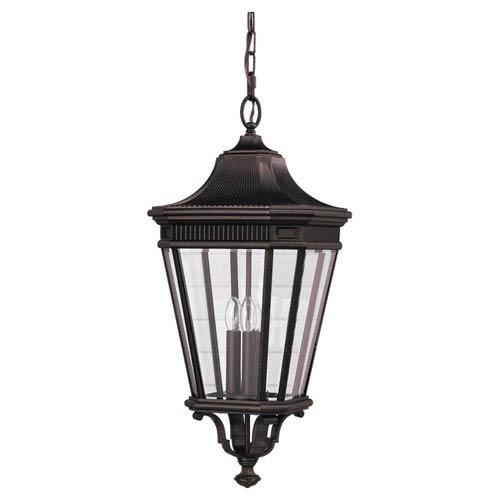 Mill & Mason Lafayette Bronze 12-Inch LED Outdoor Pendant