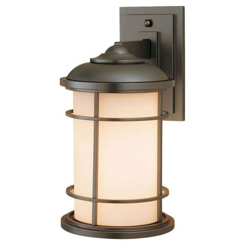 Mill & Mason Rhett Bronze 12-Inch One-Light Outdoor Wall Mount