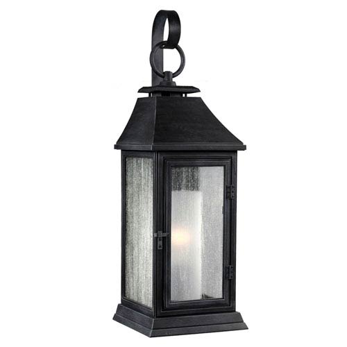 Vintage zinc outdoor lighting bellacor mill mason weston dark weathered zinc 17 inch one light outdoor wall sconce aloadofball Images