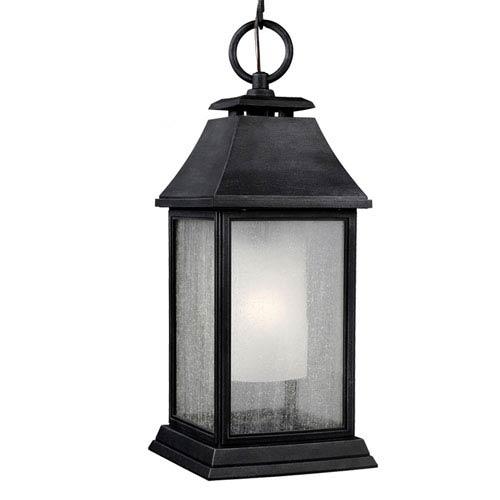 Mill & Mason Weston Dark Weathered Zinc One-Light Outdoor Pendant