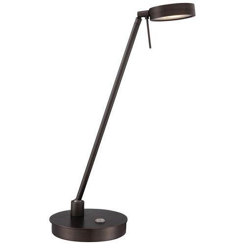 Apothecary Copper Bronze LED Desk Lamp