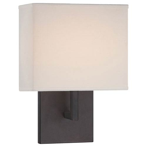 Etta Bronze Eight-Inch LED Wall Sconce