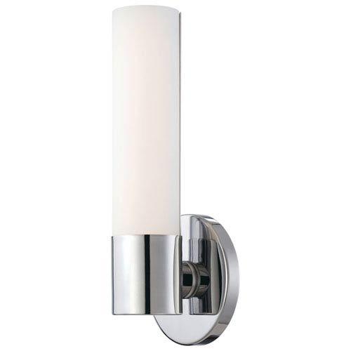 Stella Polished Chrome LED Bath Sconce