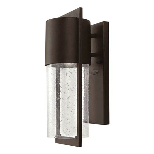 Brixton Bronze Six-Inch One-Light Outdoor Wall Mount