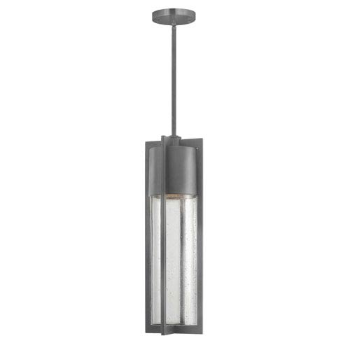 Brixton Graphite LED Outdoor Pendant