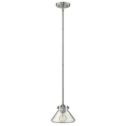 Irving Chrome Eight-Inch One-Light Mini-Pendant