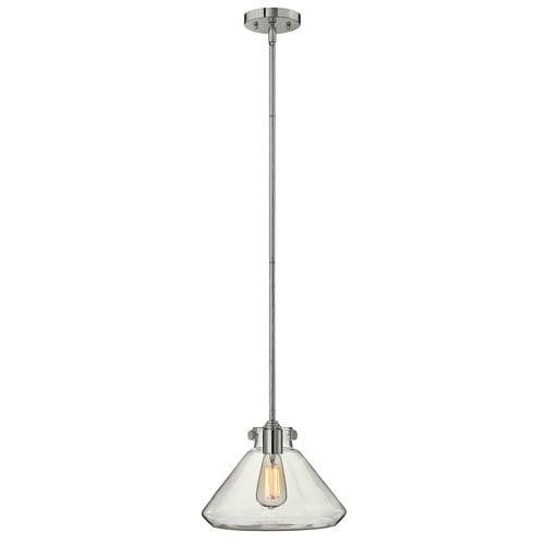 Irving Chrome 12-Inch One-Light Pendant