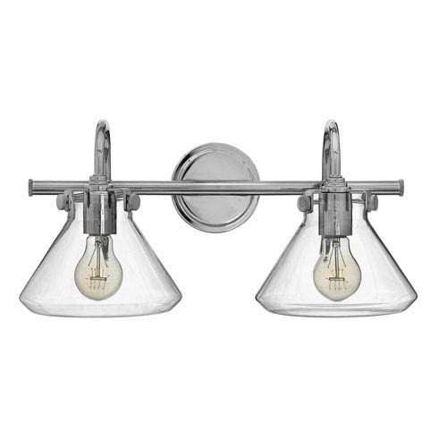 Mill & Mason Irving Chrome Two-Light Vanity
