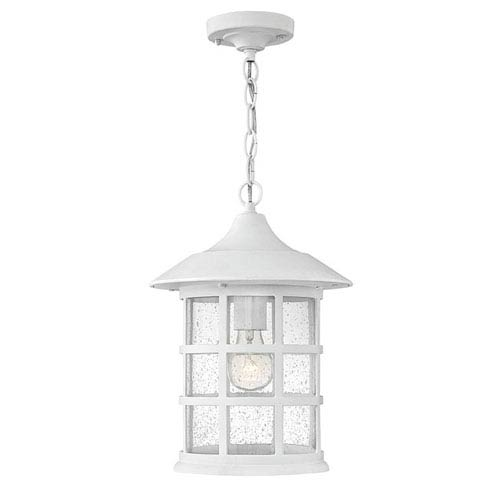 Hillgate White 14-Inch LED Outdoor Pendant