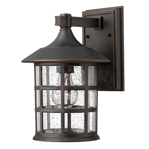 Mill & Mason Hillgate Rubbed Bronze Eight-Inch LED Outdoor Wall Mount