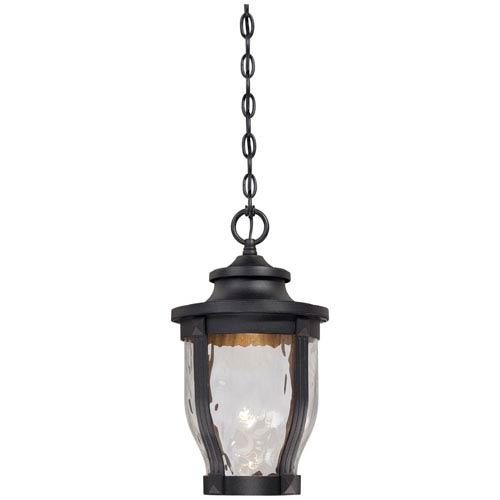 Westcott Black LED Outdoor Pendant