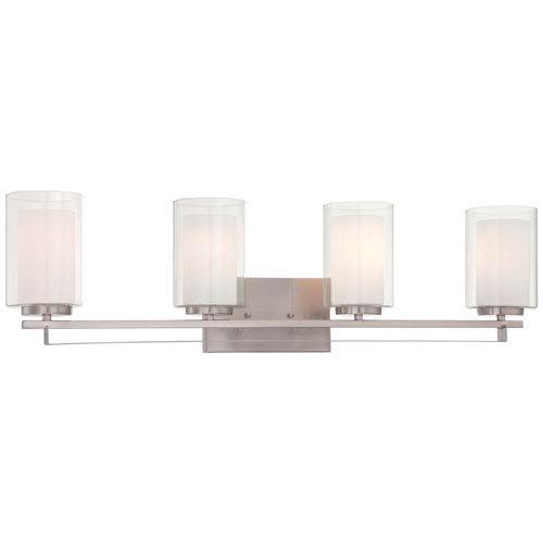Harrow Brushed Nickel Four-Light Vanity