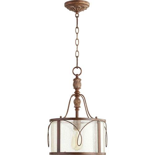 Bouverie Vintage Copper One-Light Drum Pendant