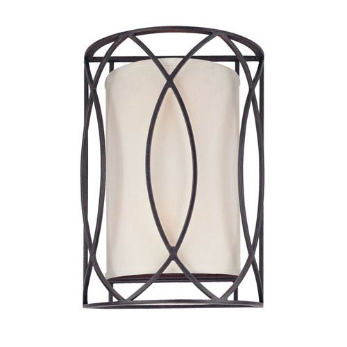 Coco Dark Bronze Two-Light Wall Sconce