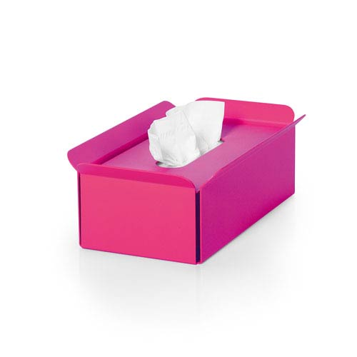 Complements Fuchsia Bathroom Tissue Box Holder