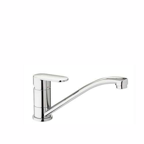 WS Bath Collections Candy Single Lever Wash Basin Mixer with Swivel Spout
