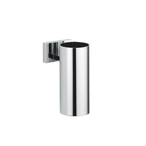 Carmel Wall Mounted Chrome Toothbrush Holder