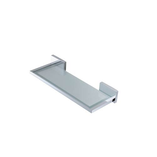WS Bath Collections Carmel Bathroom Shelf 11-inch