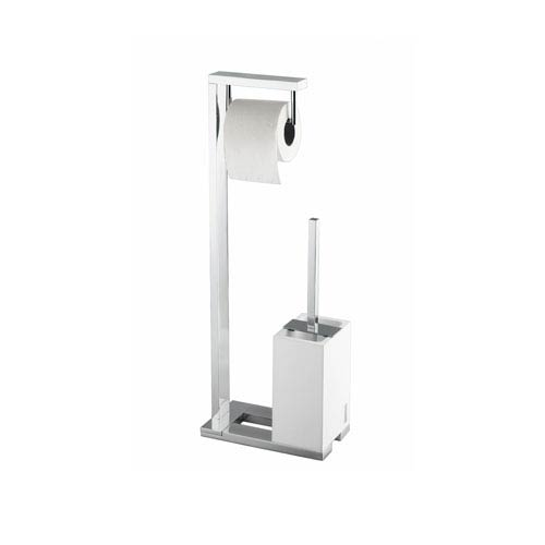 Demetra Stand with Toilet Paper Holder and Toilet Brush