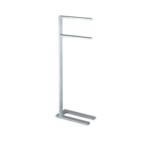 WS Bath Collections Demetra Chrome Towel Stand