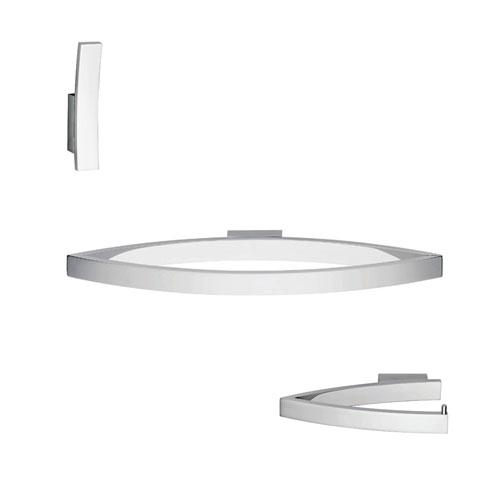 Glam Bathroom Accessory Set in Polished Chrome