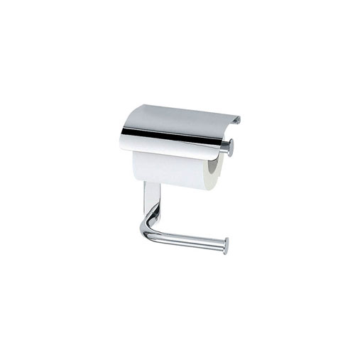 Hotellerie Double Toilet Paper Holder with Lid