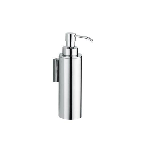 WS Bath Collections Iceberg Wall Mounted Soap Dispenser in Polished Chrome