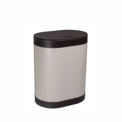 Icon Laundry Basket in Dark Brown