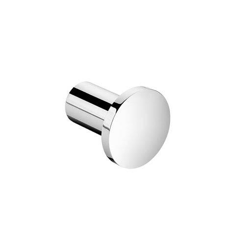 WS Bath Collections Kubic Cool Polished Chrome Bathroom Hook