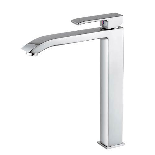 Fonte Level Polished Chrome Single Hole Vessel Bath Faucet