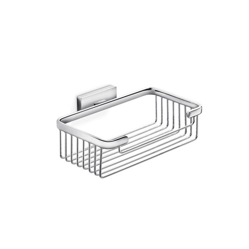 Lea Shower Basket in Polished Chrome