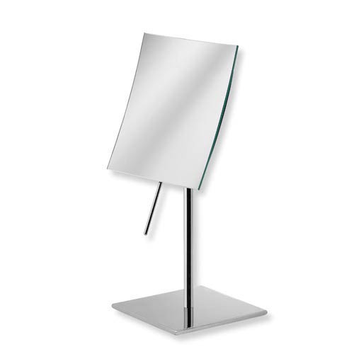 Mevedo Polished Chrome 6-Inch Free-Standing 3X Magnifying Mirror