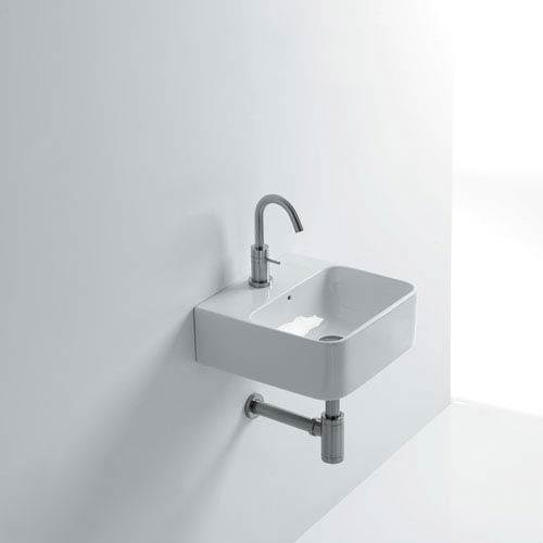 Wall Mounted / Vessel Bathroom Sink