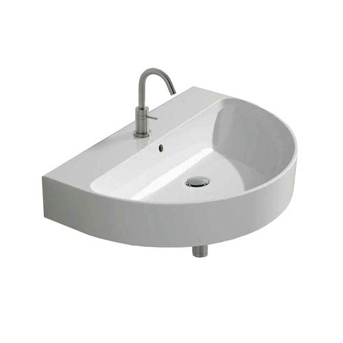 WS Bath Collections Wall Mounted / Vessel Bathroom Sink