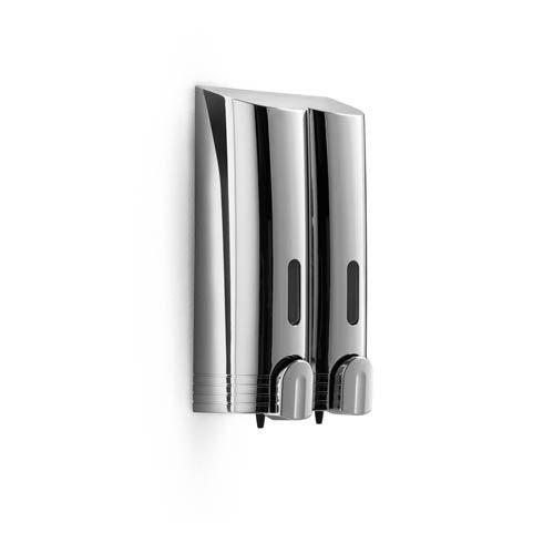 WS Bath Collections Otel Chrome Double Soap Dispenser